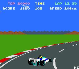 Pole Position II  © Namco 1983  (ARC)   2/4