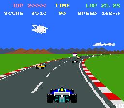 Pole Position II  © Namco 1983  (ARC)   3/4