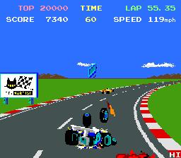 Pole Position II  © Namco 1983  (ARC)   4/4