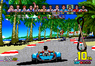 Power Drift (ARC)   © Sega 1988    4/6