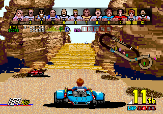Power Drift (ARC)   © Sega 1988    5/6