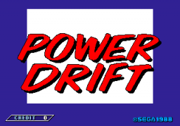Power Drift (ARC)   © Sega 1988    1/6