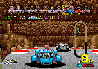 Power Drift (ARC)   © Sega 1988    6/6