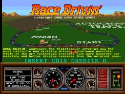 Race Drivin' (ARC)  © Atari Games 1990   1/4
