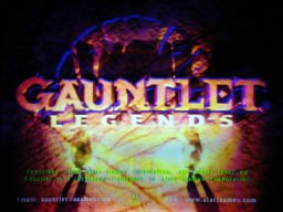 Gauntlet Legends   © Atari Games 1998   (ARC)    1/4