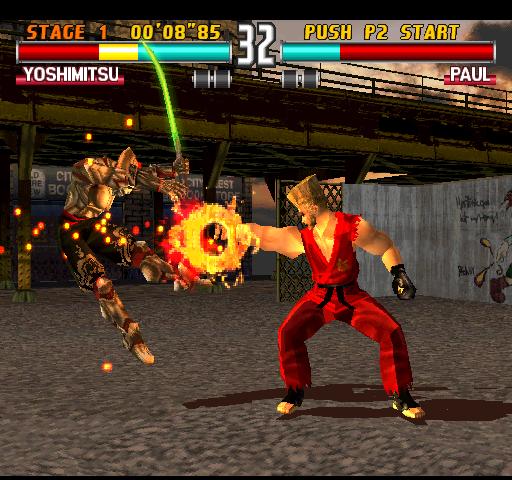 Tekken 3  © Namco 1996  (ARC)   3/4