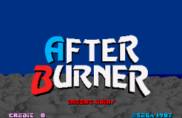 After Burner   © Sega 1987   (ARC)    1/3