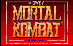 Mortal Kombat  © Midway 1992  (ARC)   1/4