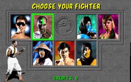 Mortal Kombat  © Midway 1992  (ARC)   4/4