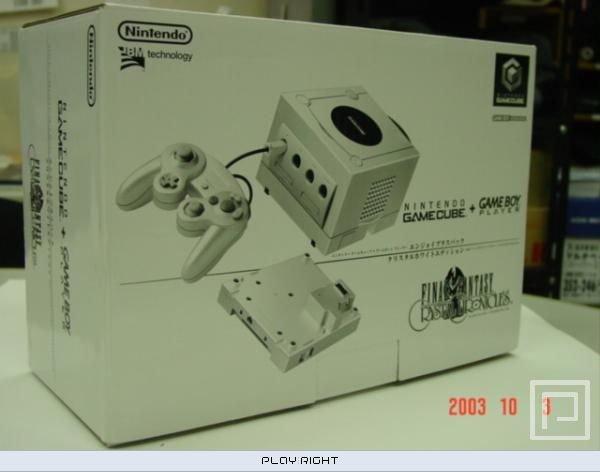 GameCube Final Fantasy (GCN)  © Nintendo    5/5