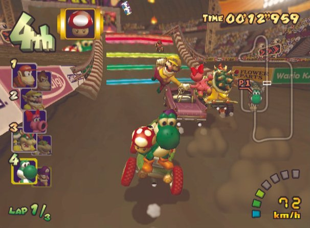 Mario Kart: Double Dash!! (GCN)  © Nintendo 2003   4/5