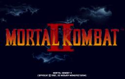 Mortal Kombat II (ARC)  © Midway 1993   1/5