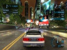 Need For Speed: Underground (XBX)  © EA 2003   3/4