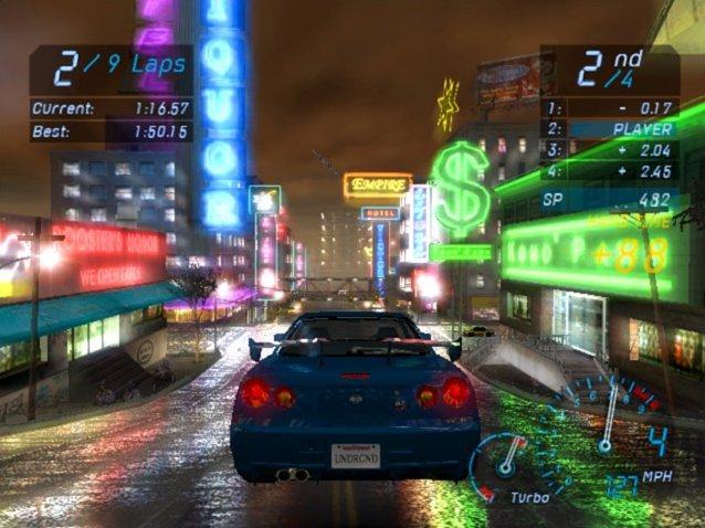 Need For Speed: Underground (XBX)  © EA 2003   4/4