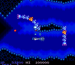 Salamander (PCE)  © Konami 1991   2/7