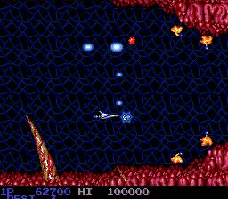 Salamander (PCE)  © Konami 1991   3/7