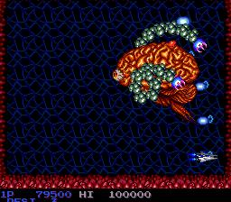 Salamander (PCE)  © Konami 1991   4/7