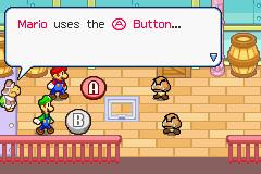 Mario & Luigi: Superstar Saga (GBA)  © Nintendo 2003   3/3
