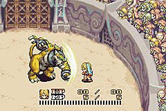 Sword Of Mana (GBA)   © Square Enix 2003    2/7