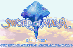 Sword Of Mana (GBA)   © Square Enix 2003    6/7