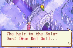 Boktai: The Sun Is In Your Hand (GBA)   © Konami 2003    2/3