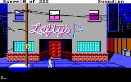 Leisure Suit Larry 1: In The Land Of The Lounge Lizards (PC)  © Sierra 1987   2/3