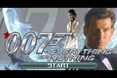 007: Everything Or Nothing (GBA)  © EA 2003   1/3