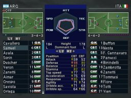 Pro Evolution Soccer 3 (PC)   © Konami 2003    2/5