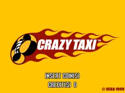 Crazy Taxi (ARC)  © Sega 1999   1/3