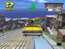 Crazy Taxi (ARC)  © Sega 1999   2/3