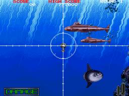 Battle Shark (ARC)  © Taito 1989   2/5