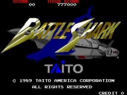 Battle Shark (ARC)  © Taito 1989   1/5