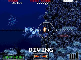 Battle Shark (ARC)  © Taito 1989   4/5