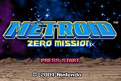 Metroid: Zero Mission  © Nintendo 2004  (GBA)   4/5