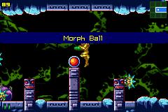 Metroid: Zero Mission (GBA)  © Nintendo 2004   5/5