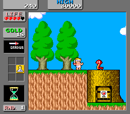 Wonder Boy In Monster Land (ARC)   © Sega 1987    2/3
