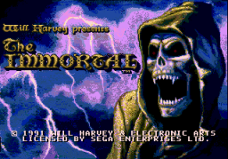 The Immortal (SMD)   © EA 1993    1/3