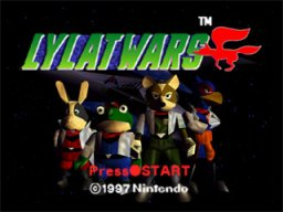 StarFox 64 (N64)  © Nintendo 1997   1/3