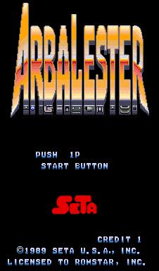 Arbalester (ARC)  © SETA 1989   1/4