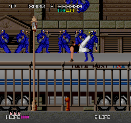 Bad Dudes Vs. Dragon Ninja (ARC)  © Data East 1988   3/5