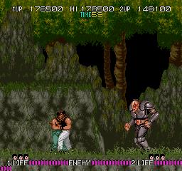 Bad Dudes Vs. Dragon Ninja (ARC)  © Data East 1988   4/5