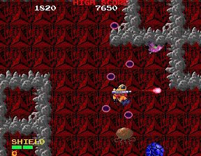 Baraduke (ARC)  © Namco 1985   4/4