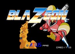 Blazeon (ARC)  © Atlus 1992   1/4