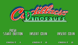 Cadillacs And Dinosaurs (ARC)   © Capcom 1993    1/6
