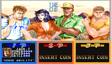 Cadillacs And Dinosaurs (ARC)   © Capcom 1993    6/6