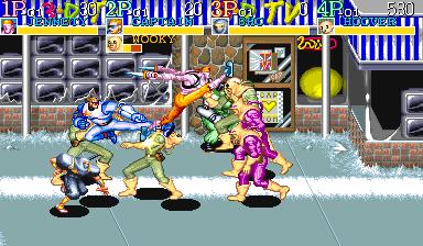Captain Commando (ARC)  © Capcom 1991   4/7