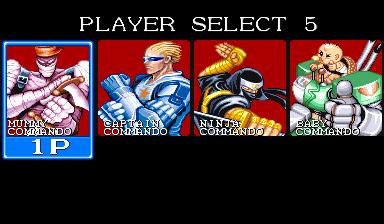 Captain Commando (ARC)  © Capcom 1991   7/7