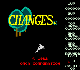 Changes (ARC)   © Orca 1982    1/3