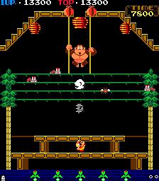 Donkey Kong 3 (ARC)  © Nintendo 1984   3/4