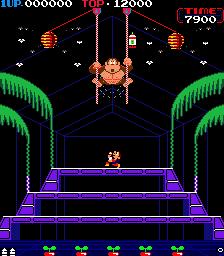 Donkey Kong 3 (ARC)  © Nintendo 1984   4/4
